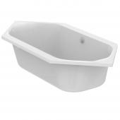 Ideal Standard Tonic II - Sechseck-Badewanne mit Ablauf und Füller 1900 x 900 x 480 mm weiß