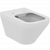 Ideal Standard Tonic II - Wandtiefspül-WC spülrandlos 355 x 560 x 350 mm weiß mit IdealPlus