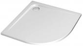 Ideal Standard Ultra Flat - Viertelkreis-Brausewanne 1000 mm