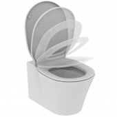 Ideal Standard Connect Air - Wand-Tiefspül-WC-Kombipaket 365 x 545 x 350 mm randlos SoftClosing weiß