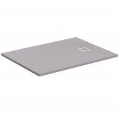 Ideal Standard Ultra Flat S - Rechteck-Brausewanne 1000 x 800 x 30 mm quarzgrau
