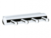 Keuco Plan - Einzelhaken silber eloxiert / aluminium