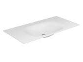 Keuco Edition 11 - Varicor-Waschtisch 1050 mm ohne Hahnlochbohrung weiß