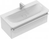 Ideal Standard Tonic II - Waschtischunterschrank 1 Auszug 1000 x 440 x 350 mm hochglanz weiß