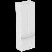Ideal Standard Tonic II - Hochschrank mit 2 Auszügen und 2 Türen 600 x 350 x 1735 mm hochglanz weiß