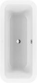 Villeroy & Boch Loop & Friends - Badewanne 1800 x 800 mm star white Duo mit eckiger