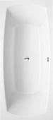 Villeroy & Boch My Art - Badewanne Rechteck 1800 x 800 mm weiß alpin Duo