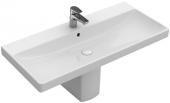 Villeroy & Boch Avento - Möbelwaschtisch 800 x 470 mm mit Überlauf weiß alpin