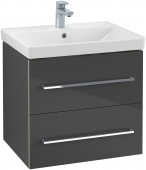 Villeroy & Boch Avento - Waschtischunterschrank 567 x 520 x 447 mm crystal grey