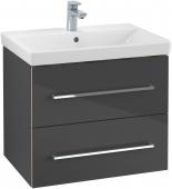 Villeroy & Boch Avento - Waschtischunterschrank 618 x 520 x 447 mm crystal grey