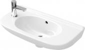Villeroy & Boch O.novo - Handwaschbecken Compact 5361 500 x 250 mm mit Überlauf weiß alpin