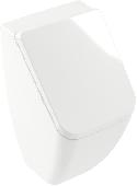 Villeroy & Boch Venticello - Absaug-Urinal 285 x 545 x 315 mm mit Deckel weiß alpin