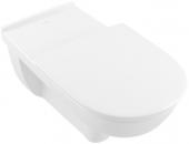 Villeroy & Boch O.novo - Tiefspül-WC spülrandlos Vita 360 x 700 DF wandhängend weiß alpin AB C+