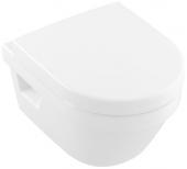 Villeroy & Boch Architectura - Tiefspül-WC spülrandlos Compact 350 x 480 mm DF weiß alpin AB C+
