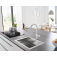 Grohe Blue Home - Starter Kit Bluetooth/WIFI C-Auslauf chrom environment 10