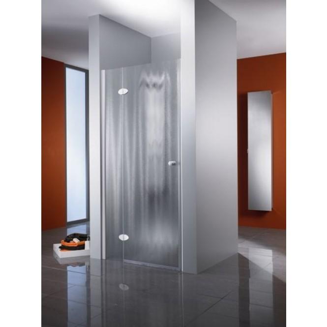 HSK Premium Classic - Revolving door niche Premium Classic, 41 chrome look custom-made, 50 ESG clear bright