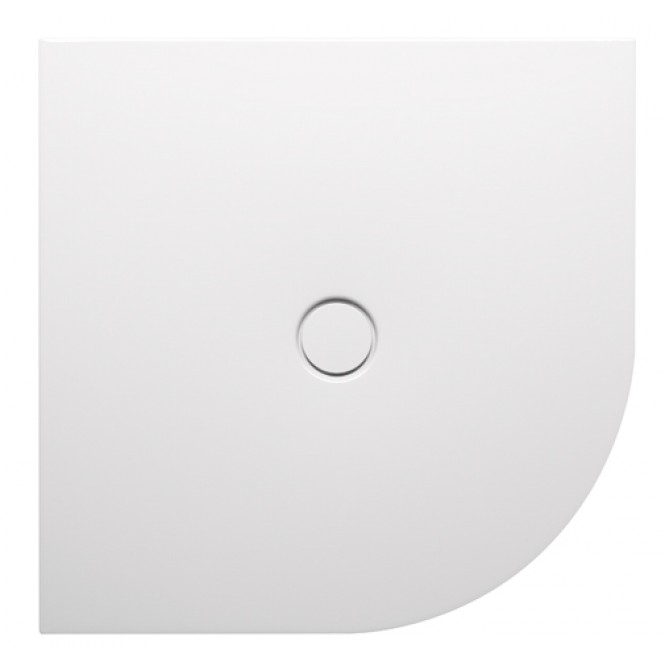 Bette BetteFloor Corner - Shower area Floor antiskid star white - 90 x 90