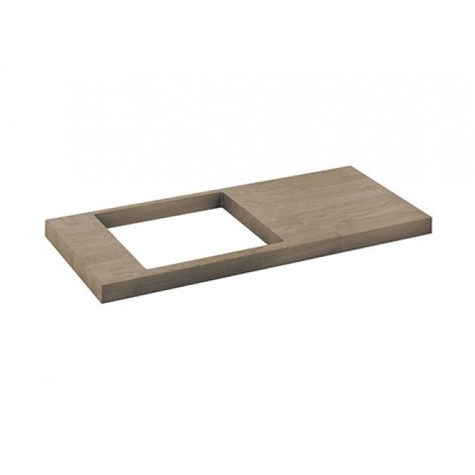 Keuco Edition 11 - Vanity plate 31199, light oak, 910-1200 mm