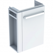 Geberit Renova Nr. 1 Comprimo - Waschtischunterschrank Handtuchhalter links weiß