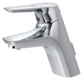 Ideal Standard CeraMix Blue - Single lever basin mixer with waste set with pop-up waste set chrome