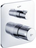 Ideal Standard Tonic II - Badethermostat 165 x 163 mm chrom