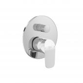 Ideal Standard Ceraflex - Badearmatur 163 x 163 mm chrom
