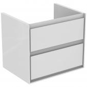 Ideal Standard Connect Air - Waschtisch-Unterschrank 600 x 440 x 517 mm weiß glänzend / matt1