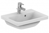 Ideal Standard Connect Space - Washbasin for Furniture 500x380mm with 1 tap hole with overflow white with IdealPlus