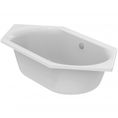 Ideal Standard Connect Air - Sechseck-Badewanne 1900 x 900 x 475 mm weiß