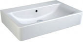 Ideal Standard Connect - Washbasin for Furniture 600x460mm without tap holes with overflow white with IdealPlus