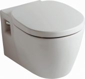 Ideal Standard Connect - Wall Hung Washdown WC with flushing rim white with IdealPlus