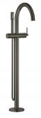 Grohe Atrio - Einhand-Wannenbatterie Fertigmontageset Bodenmontage hard graphite gebürstet Bild 1
