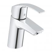 Grohe Eurosmart - Einhand-Waschtischbatterie S-Size Push-open Ablaufgarnitur chrom
