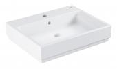 Grohe Cube - Aufsatz-Waschtisch 600 mm PureGuard weiß