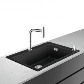 Hansgrohe C51 - Select 200 Spülencombi 660 F660-07 chrom