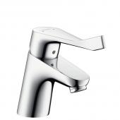 Hansgrohe Focus Care - Einhebel-Waschtischmischer 70 mit Zugstangen-Ablaufgarnitur chrom