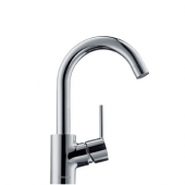 Hansgrohe Talis S - Single Lever Basin Mixer 200 with pop-up waste set chrome