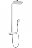 Hansgrohe Raindance - Select E 360 1jet Showerpipe chrom