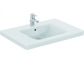Ideal Standard CONNECT FREEDOM - Washbasin 800x555mm with 1 tap hole with overflow white without IdealPlus