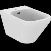 Ideal Standard Tonic II - Wandbidet 1 Hahnloch 355x 560 x 350 mm weiß mit Ideal Plus