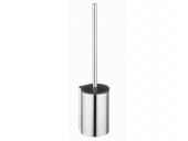 Keuco Plan - Toilet brush set silver anodised / black