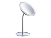 Keuco Bella Vista - Cosmetic mirror 3x magnification with lighting chrome