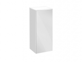 Keuco Royal Reflex - Middle unit 34020, hinged left, 1 door, white / white