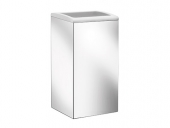 Keuco Collection Moll - Waste collectors 12788, wall-mounted, chrome finish / white