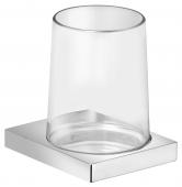 Keuco Edition 11 - Glashalter Echtkristall-Glas / verchromt