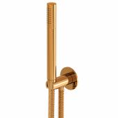 Steinberg Series 100 - Handbrausegarnitur mit integriertem Brauseanschlussbogen rose gold