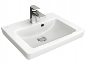Villeroy & Boch Subway 2.0 - Hand-rinse basin for Furniture 500x400 white without CeramicPlus