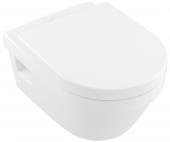 Villeroy & Boch Architectura - Tiefspül-WC spülrandlos 370 x 530 mm weiß alpin AntiBac C+