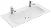 Villeroy & Boch Finion - Schrankwaschtisch 4164 1000 x 500 mm ohne Überlauf weiß alpin CeramicPlus