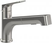 Villeroy & Boch Junis Shower - Einhand-Spültischbatterie edelstahl massiv